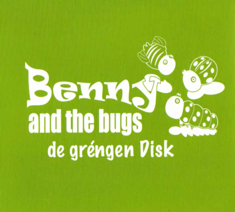 Benny and the Bugs - de gringen Disk (Front Cover) | Click to enlarge