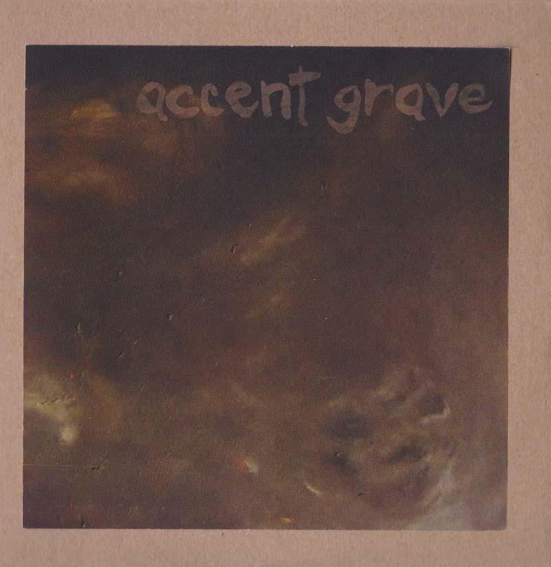 Accent Grave - 1st Take (Front Cover)