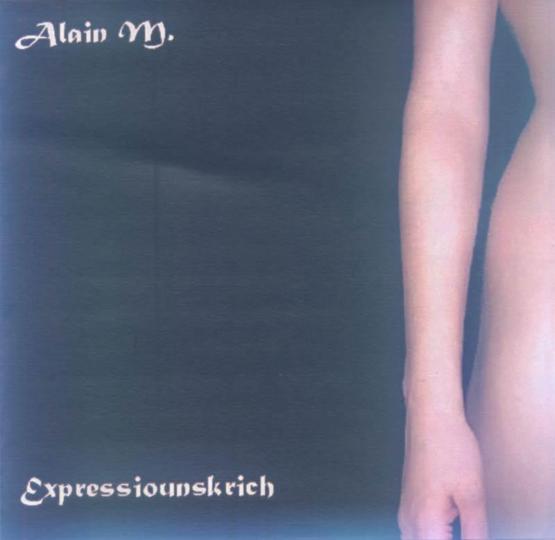 Alain M. - Expressiounskrich (Front Cover)