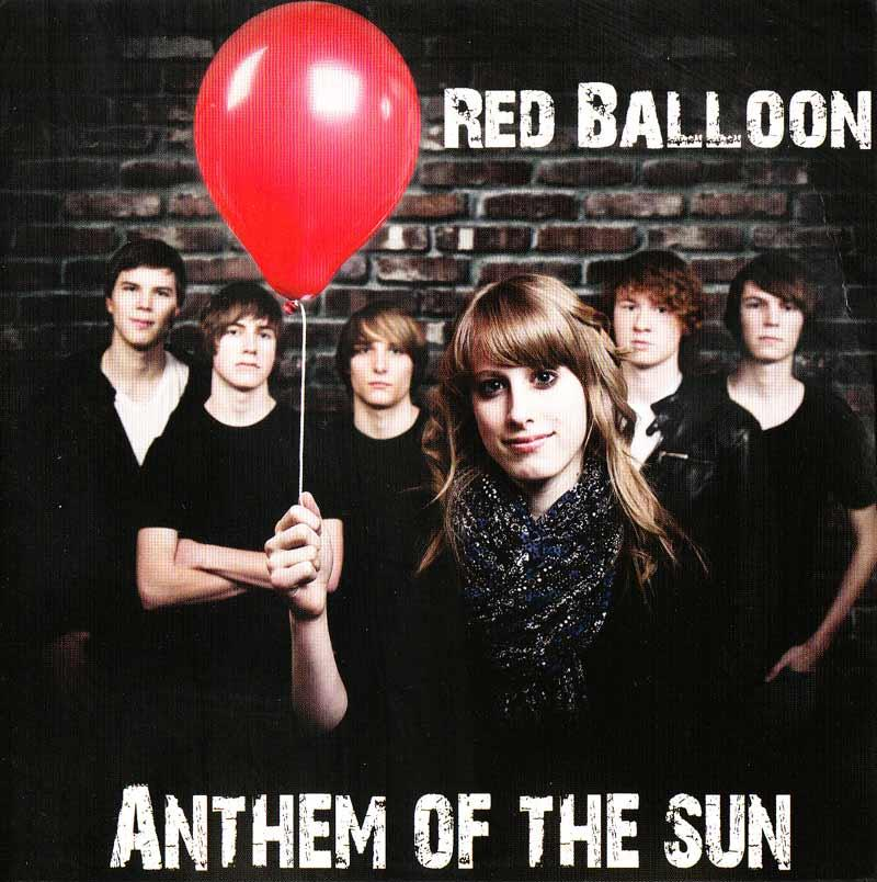 Anthem of the Sun - Red Ballon (Front Cover)
