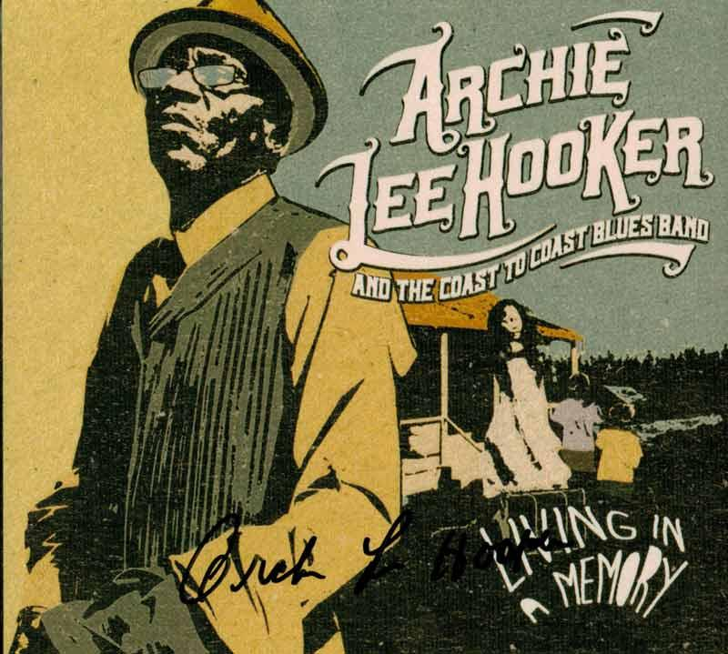 Archie Lee Hooker & the Coast to Coast Blues Band - Living in a Memory (Front Cover)