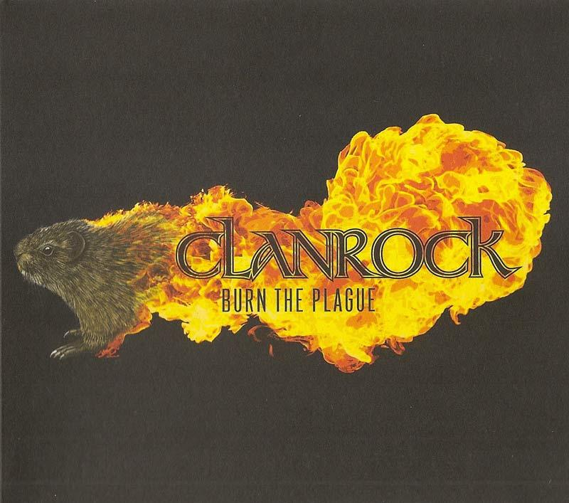 Clanrock - Burn the Plague (Front Cover)