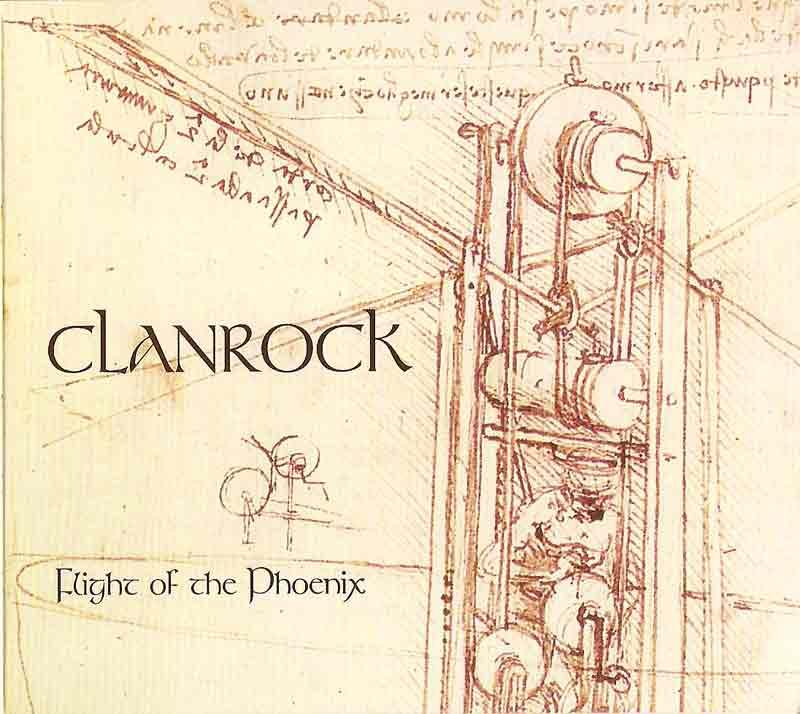 Clanrock - Flight of the Phoenix (Front Cover)