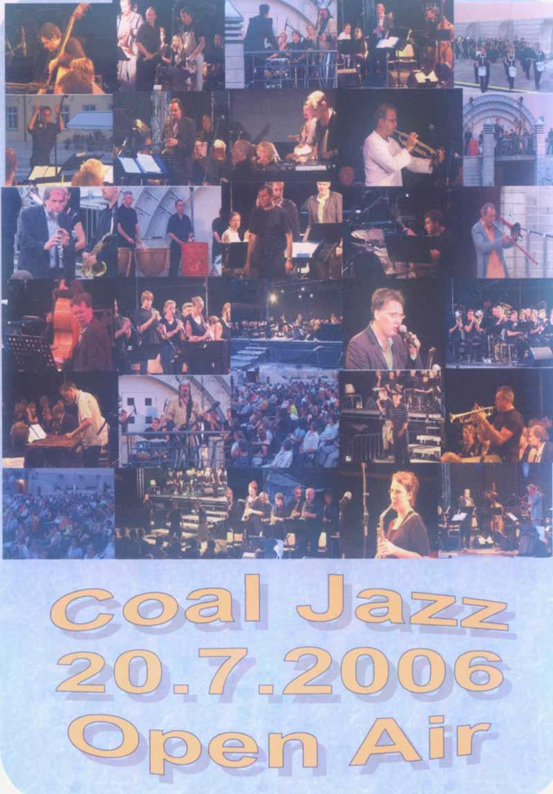Coal Jazz - DVD Open Air 20.07.06 (Front Cover)