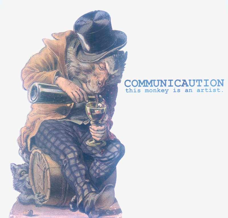 Communicaution - This Monkey is an Artist (Front Cover)