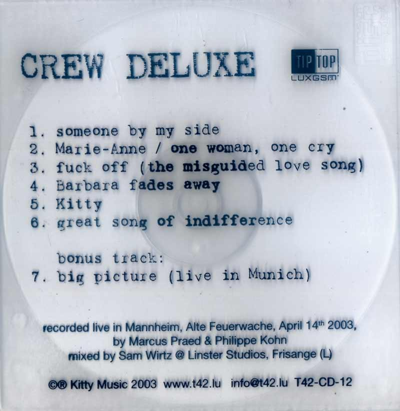 T42 - Crew Deluxe (Front Cover)