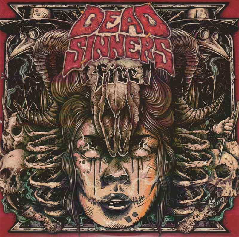 Dead Sinners - Fire (Front Cover)
