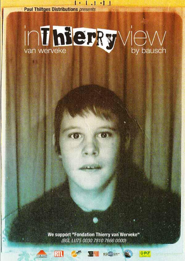 Thierry van Werveke - InThierryView DVD (Front Cover)