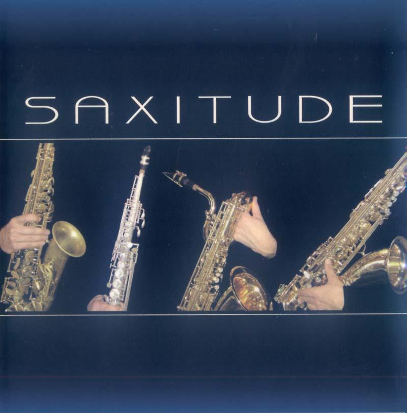 Arend Roby - Saxitude (Front Cover)