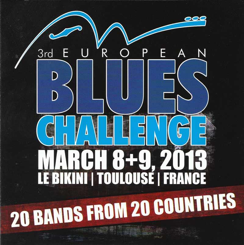 European Blues Challenge 2013 - European Blues Challenge 2013 (Front Cover)